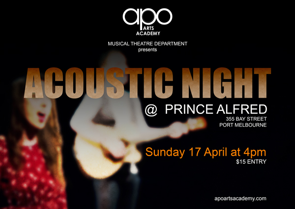 Acoustic Night - Apo Arts Academy