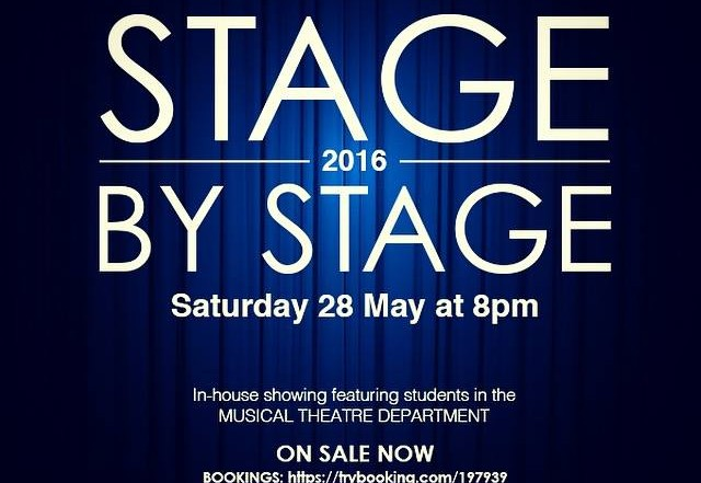 Stage by Stage in-house showing Musical theatre students